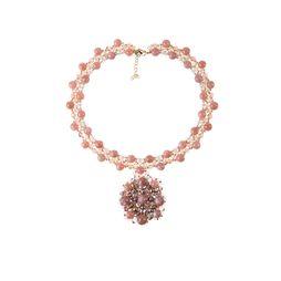 Колье «Розовое золото»