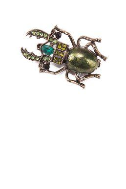 Брошь «Добрый жук»