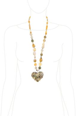 Кулон «Золотое сердце»