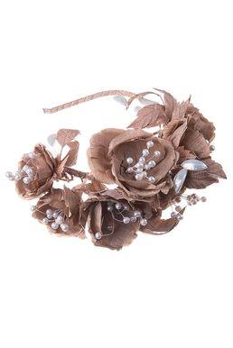 Ободок «Модный стиль» (коричневый)