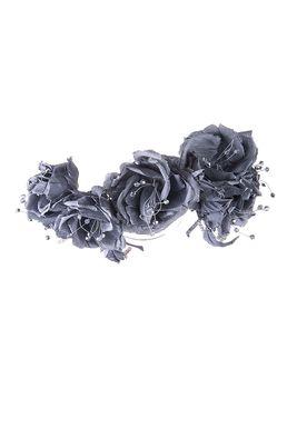 Ободок «Модный стиль» (серый)
