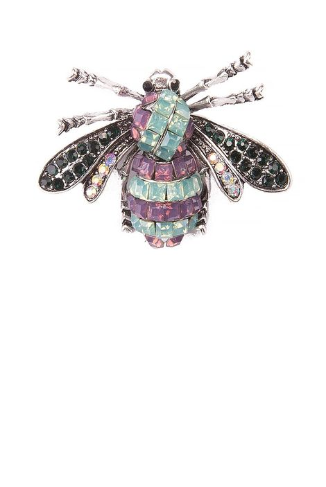 Брошь «Танец пчелы»