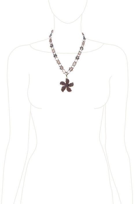 Кулон «Каменный цветок»