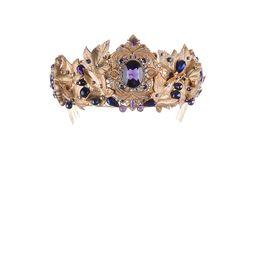 Диадема «Королева Эльфов» (фиолетовый)