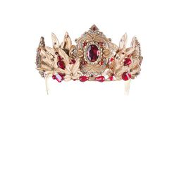Диадема «Королева Эльфов» (красный)