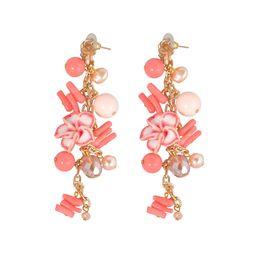 Серьги «Розовые мечты»