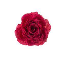 Брошь-цветок «Модный стиль» (лен, майорка, худож.стекло)