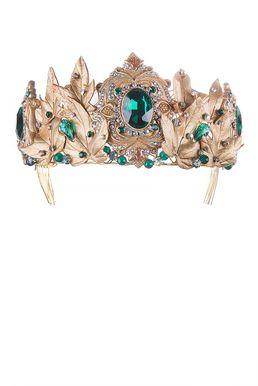 Диадема «Королева Эльфов» (зеленый)