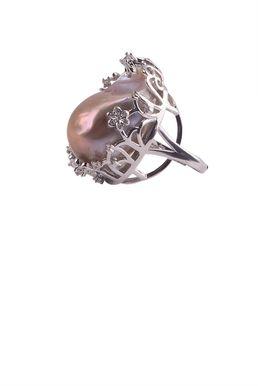 Кольцо «Жемчужный сад» (жемчуг)