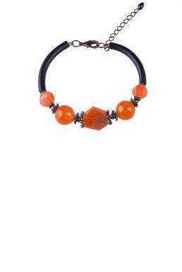 Браслет «Рондо» (оранжевый, черный)
