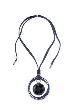 Колье «Мегаполис» (синий, черный, серебряный)