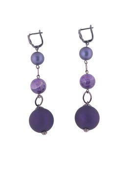 Серьги «Фиолетовые ночи»