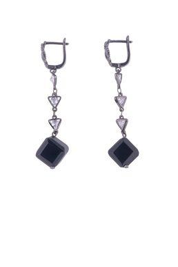 Серьги «Черное серебро»