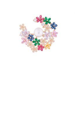Брошь «Вальс цветов»