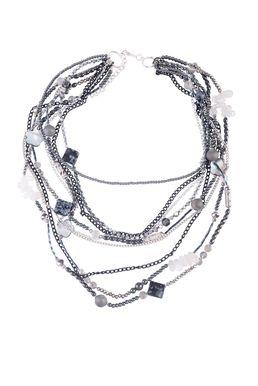 Колье «Черное серебро»