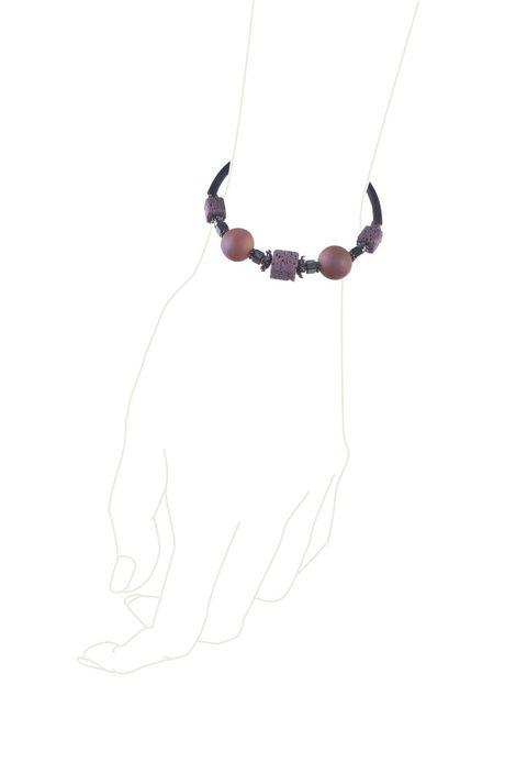 Браслет «Рондо» (черный, сиреневый, бежевый)