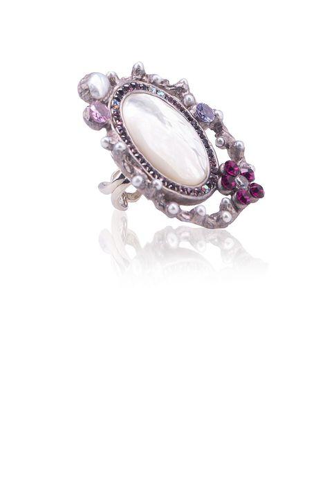 Кольцо «Мир из серебра»