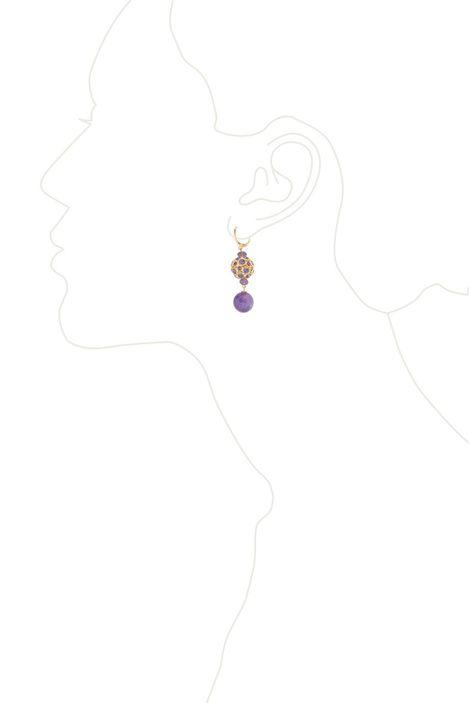 Серьги «Аметистовое золото»