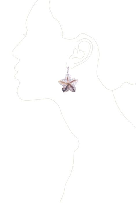 Серьги «Перламутровые звезды»
