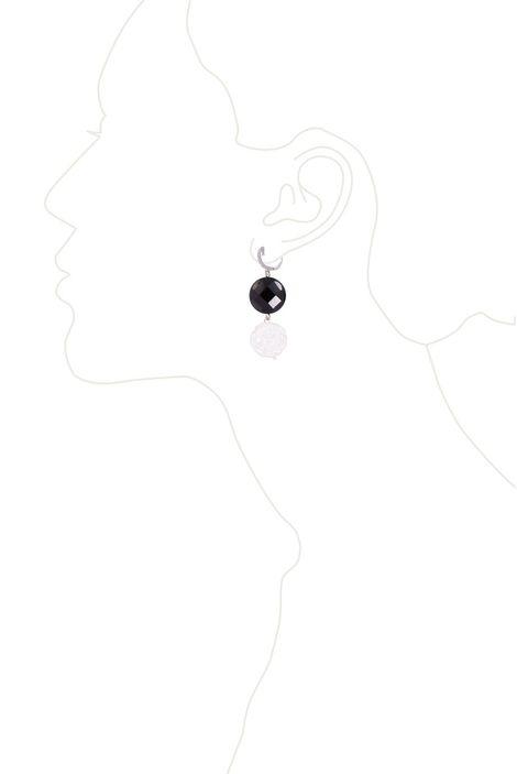 Серьги «Ночь Белых роз»