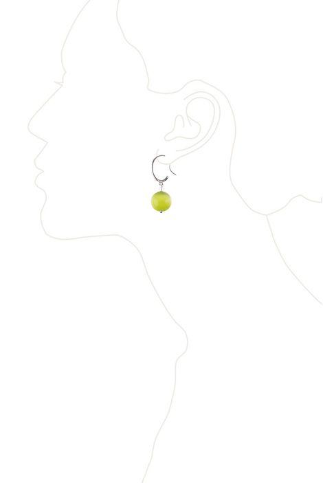 Серьги «Цветной шелк»